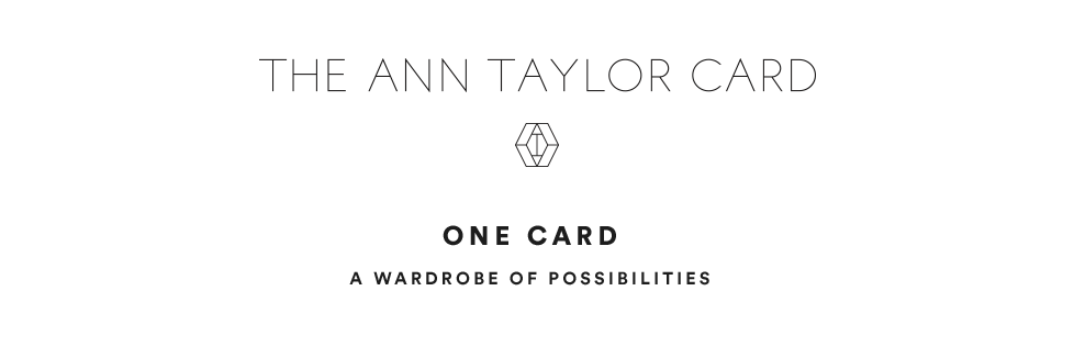 THE ANN TAYLOR CARD