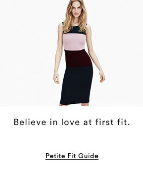 PETITE FIT GUIDE
