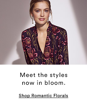 Shop Romantic Florals