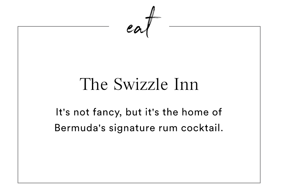 EAT - THE SWIZZLE INN