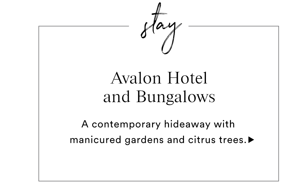 STAY - AVALON HOTEL AND BUNGALOWS