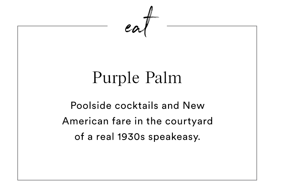 EAT - PURPLE PALM