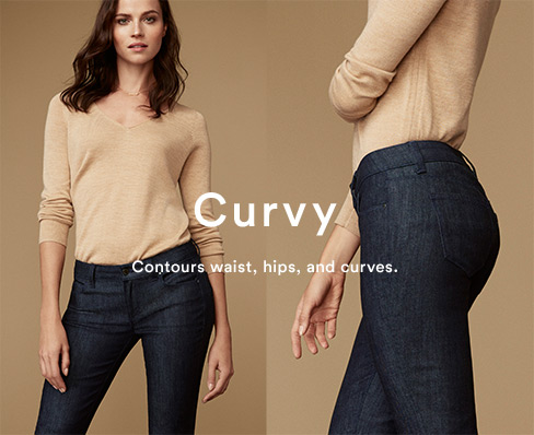 SHOP THE CURVY FIT