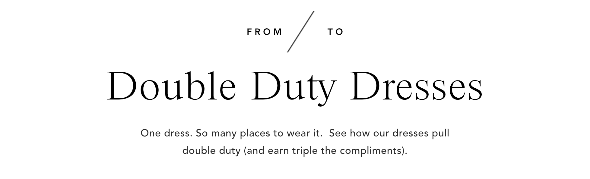 Double duty dresses ann taylor pooptronica Images