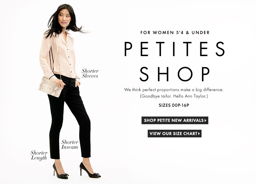 Stores that sell petite clothing Clothing stores online