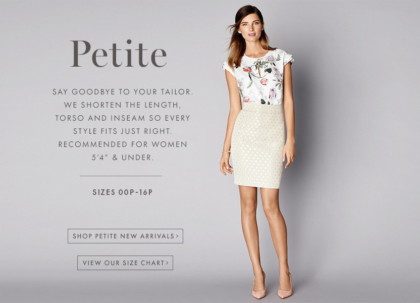 Petite clothing store. Clothing stores online
