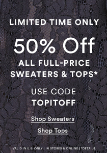 50% OFF FP TOPS & SWEATERS